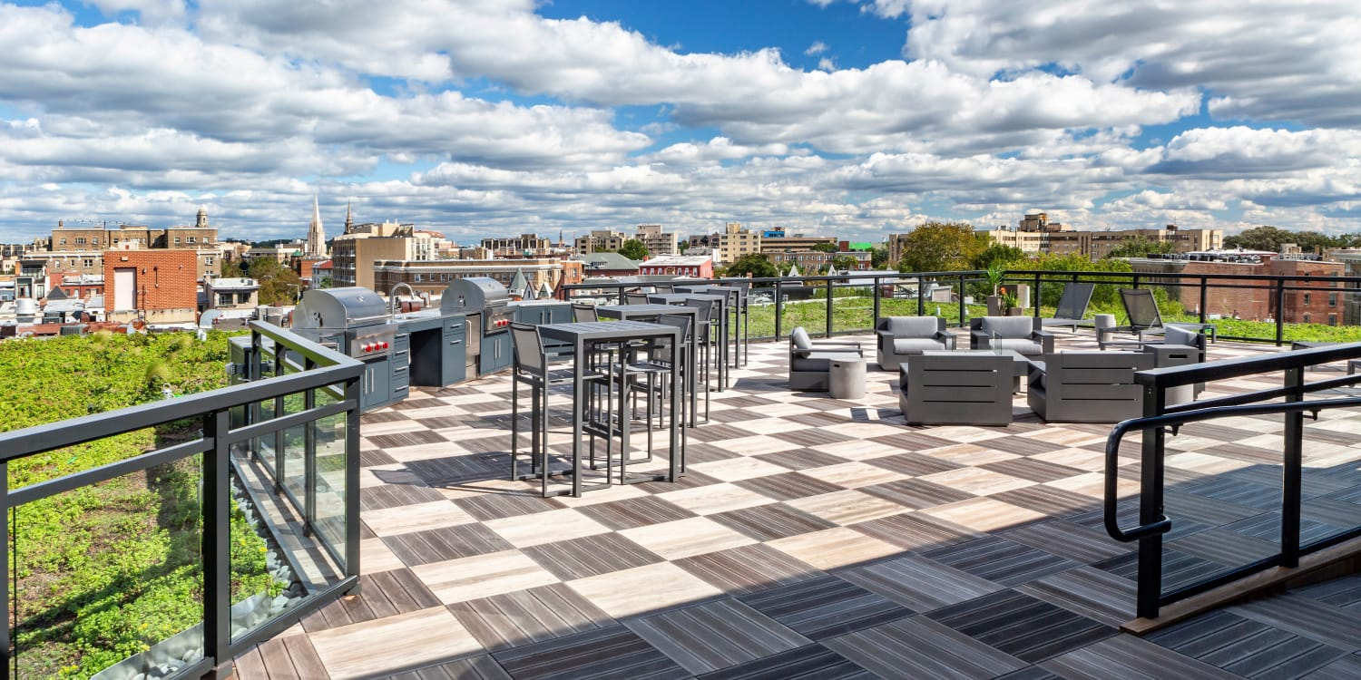 AdMo Heights outdoor patio in Washington, District of Columbia