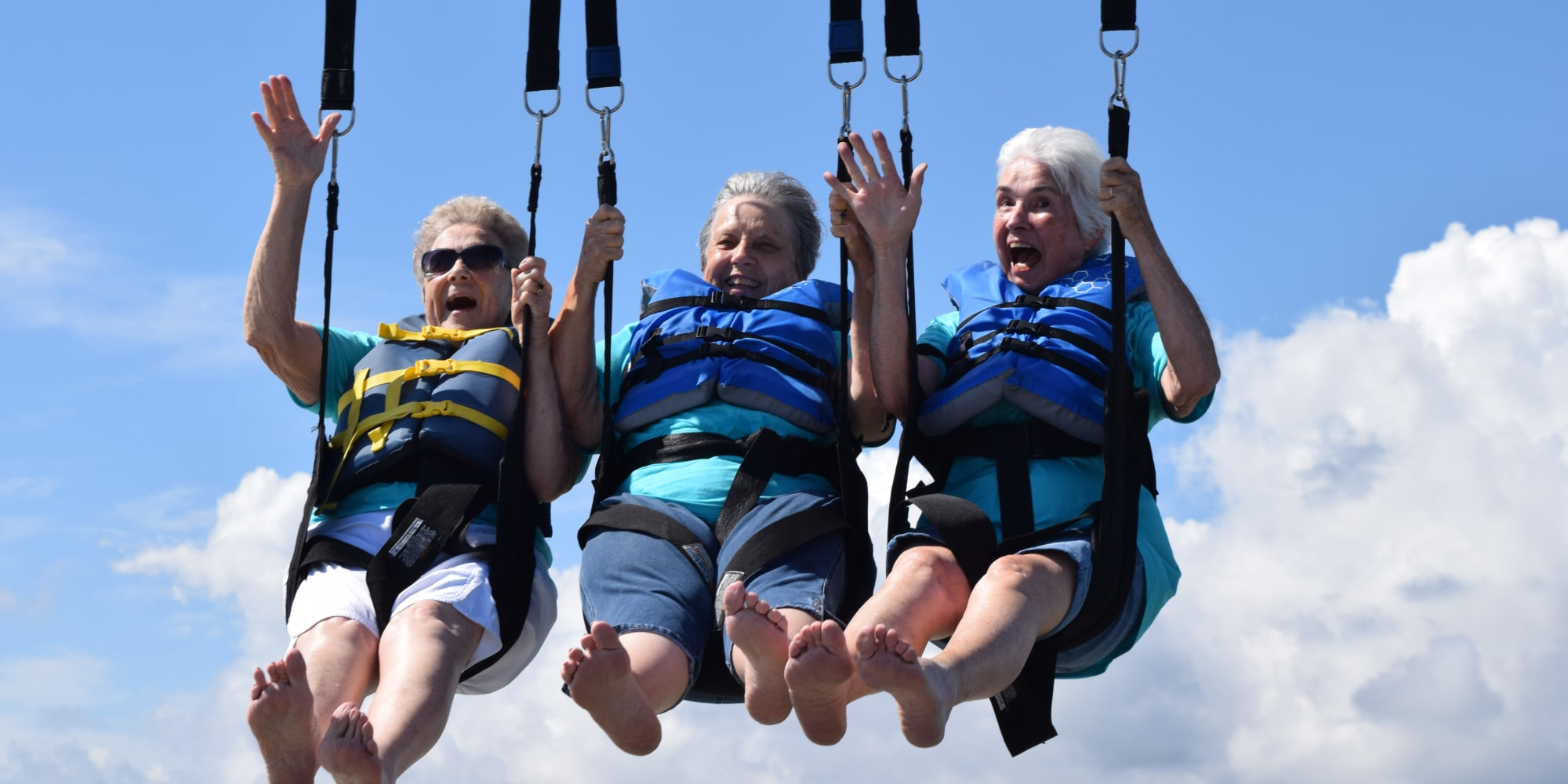 Residents of Osprey Heights Gracious Retirement Living in Valrico, Florida