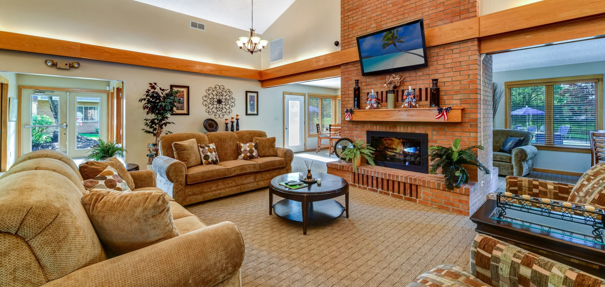 Apartments for rent at Brittany Bay Apartments and Townhomes in Groveport, Ohio