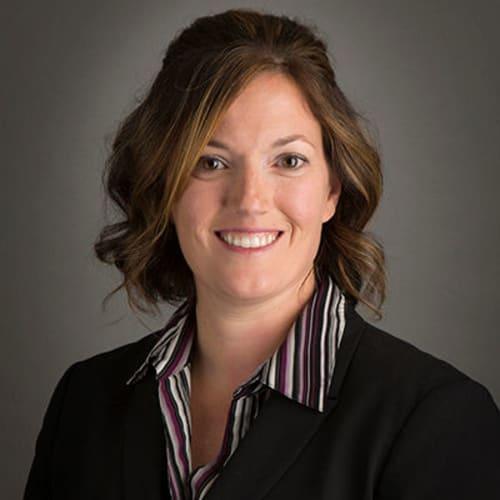 Amber Gauthier, RN, Director of Health Care Services of The Keystones of Cedar Rapids in Cedar Rapids, Iowa