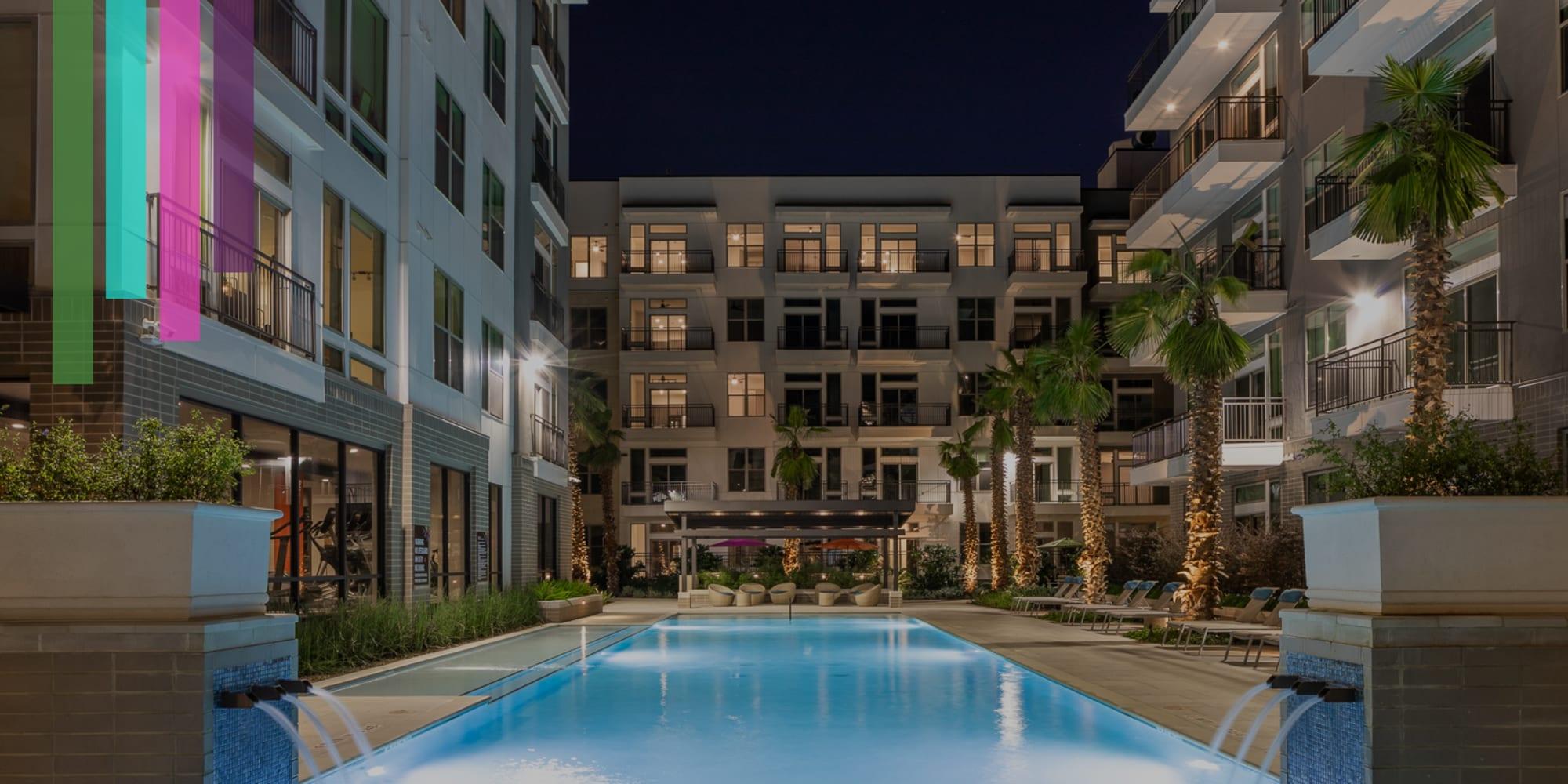 Pool at Bellrock Summer Street in Houston, Texas