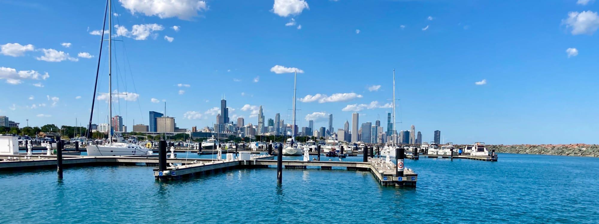 Neighborhood near Prairie Shores in Chicago, Illinois