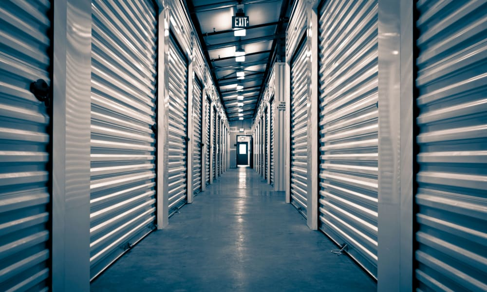 Interior storage units at Store It All Self Storage in San Antonio, Texas
