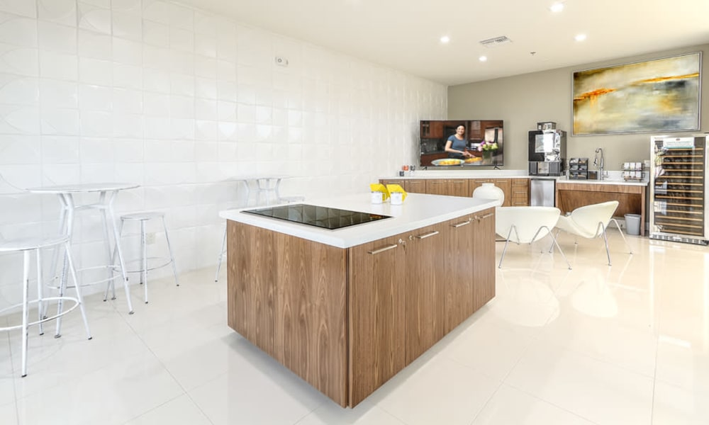Resident lounge at Revolution | Apartments in Henderson, Nevada