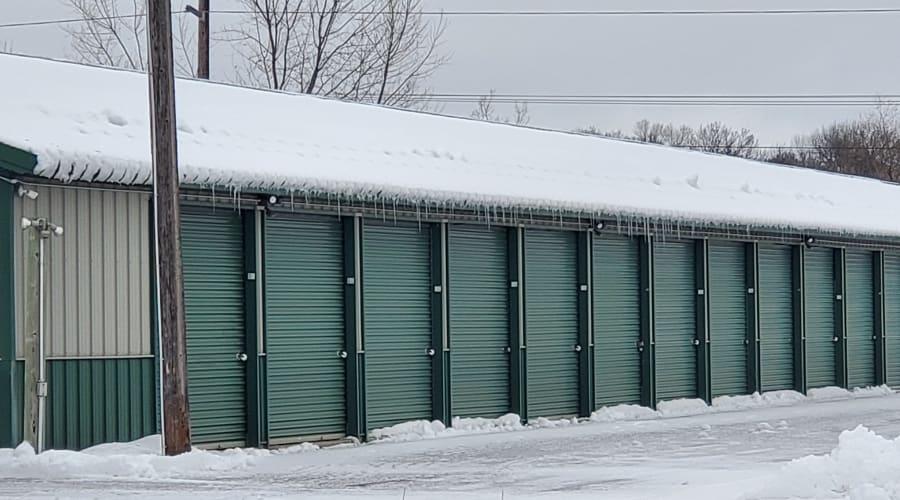 Exterior of outdoor units at KO Storage of Alexandria - North in Alexandria, Minnesota