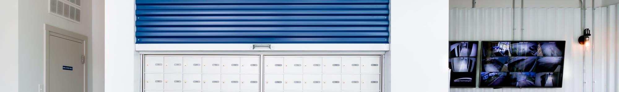 Mailboxes at CityBox Storage in Calgary, Alberta