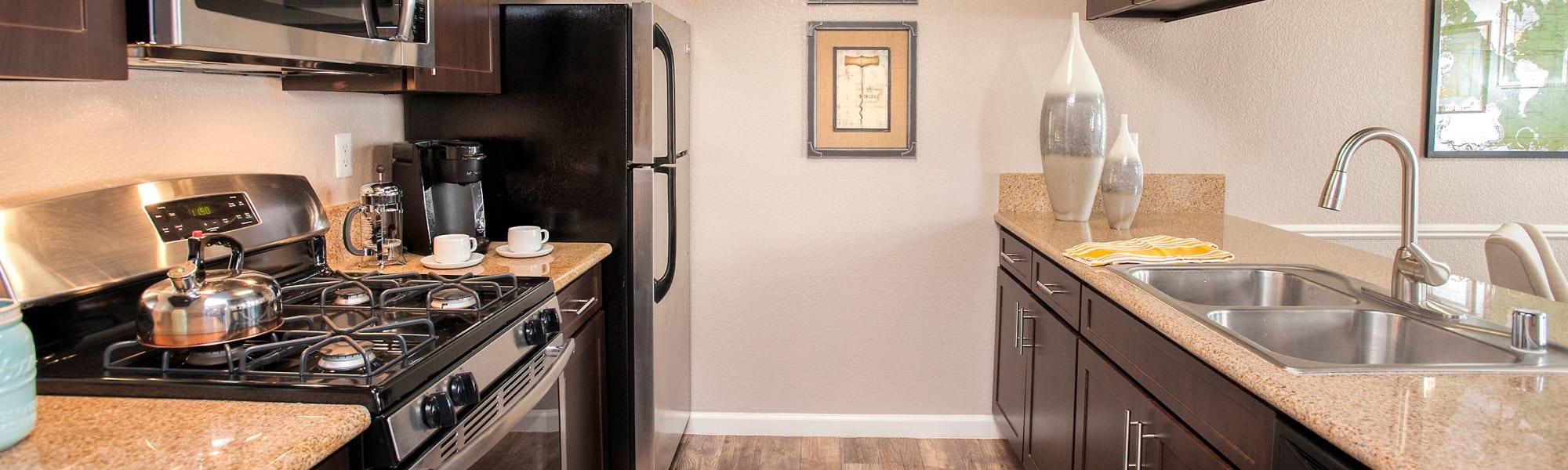 Floor plans at Deer Valley Apartment Homes in Roseville, California