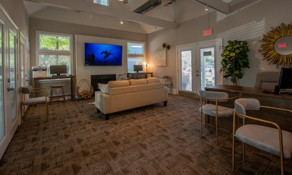 Inside the clubhouse at The Pointe of Ridgeland in Ridgeland, MS