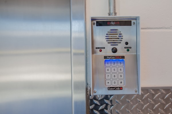 Keypads provide a Secure Storage Facility