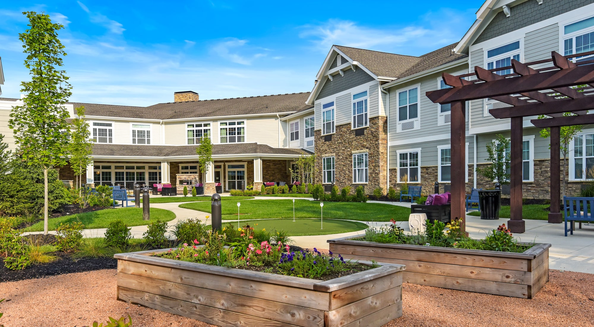 Senior living at Anthology of Meridian Hills in Indianapolis, Indiana