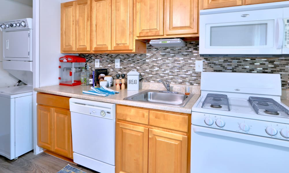 Kitchen at Townhomes in Baltimore, Maryland