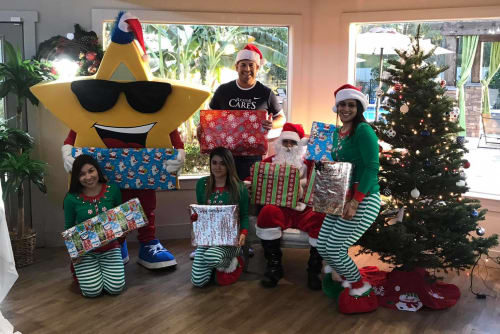 Green Meadows Apartments giving back for Christmas