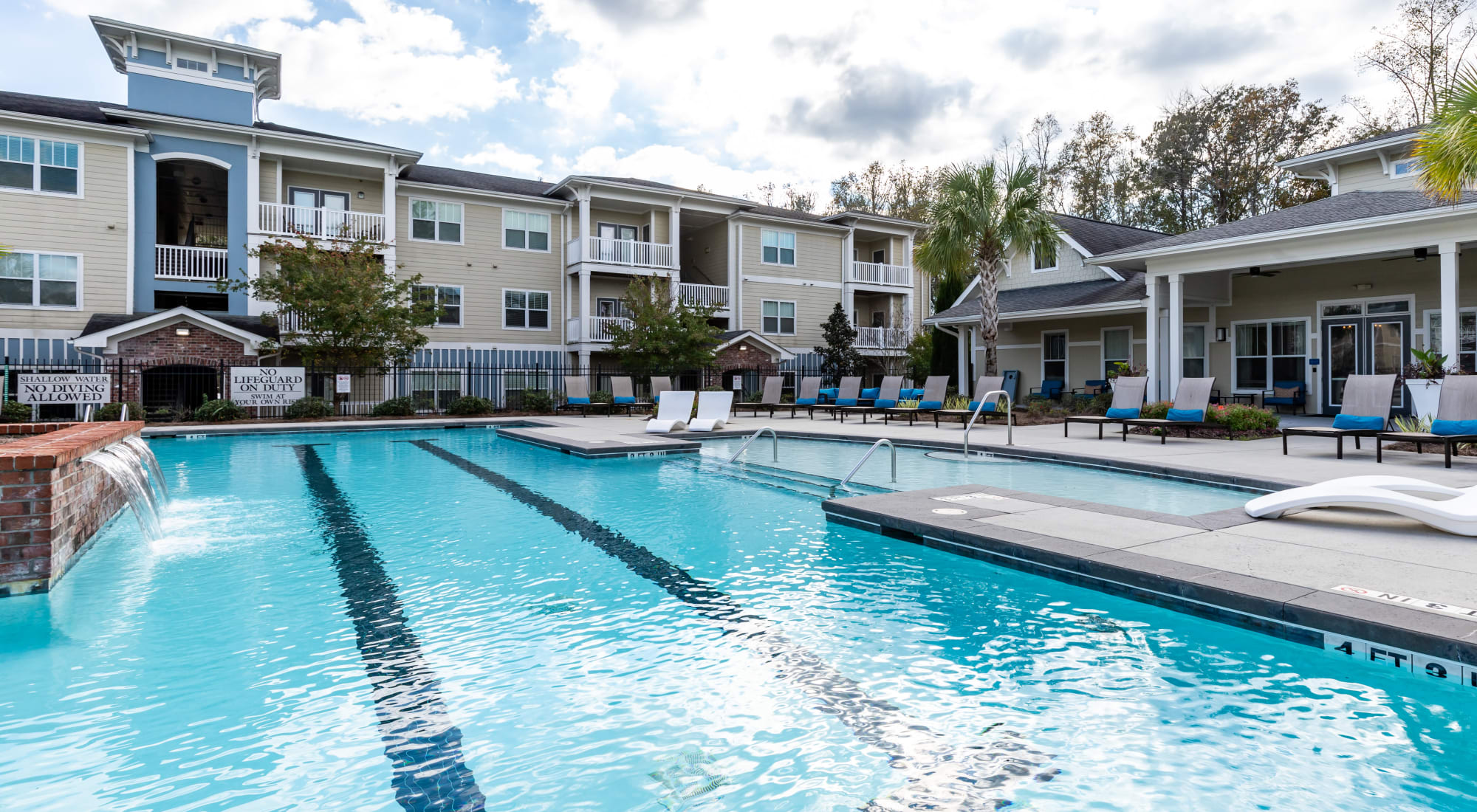 Pool at Ansley Commons Apartment Homes in Ladson, South Carolina