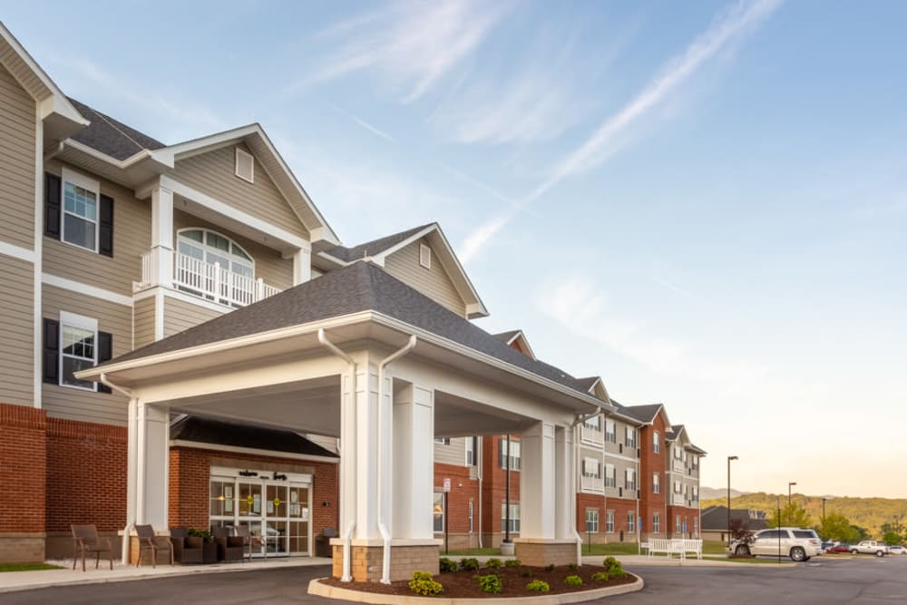 Exterior at The Harmony Collection at Roanoke - Assisted Living in Roanoke, Virginia