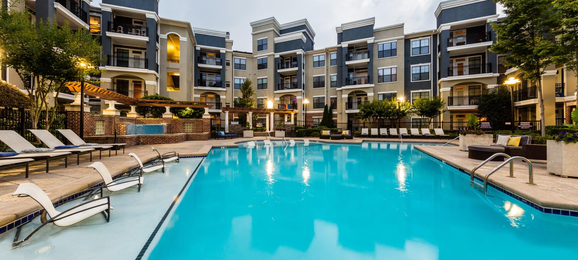 Apartments at Marquis Midtown District in Atlanta, Georgia