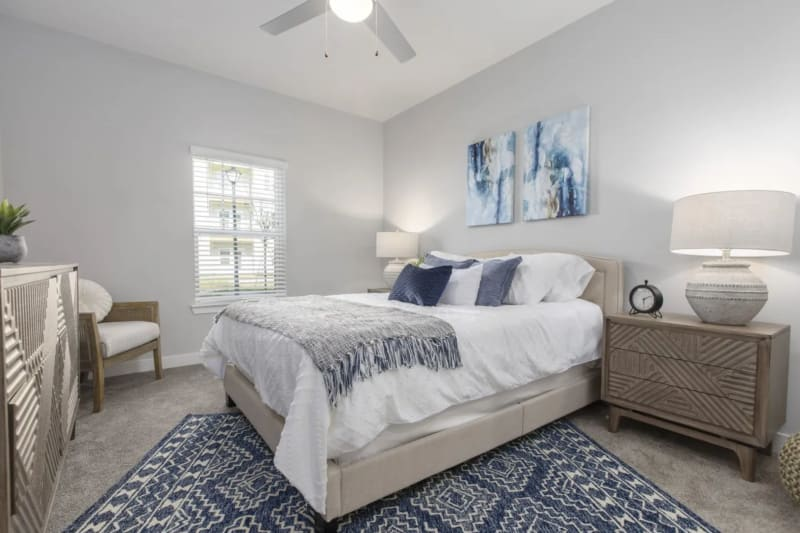 Bedroom at Argyle at Oakleaf Town Center in Jacksonville, Florida