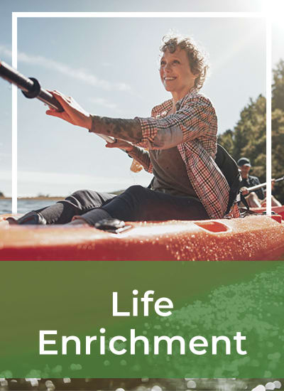 Life enrichment wellness at Touchmark Central Office in Beaverton, Oregon