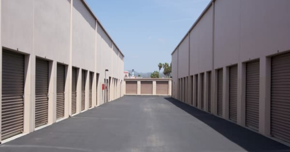 storage units at Allspace Self Storage