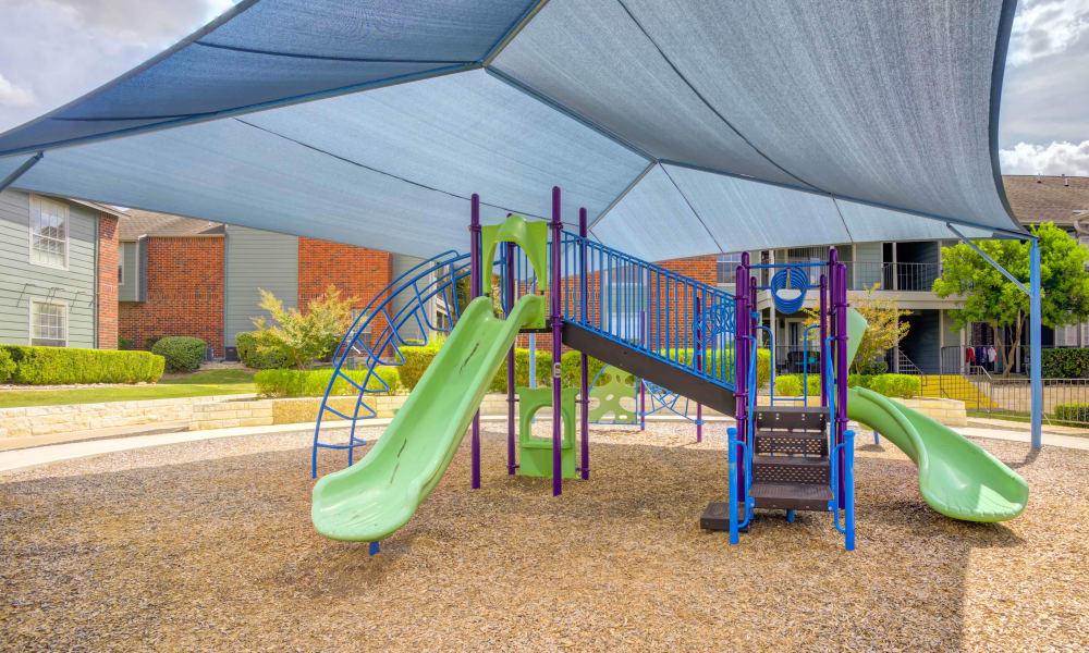 Bradford Pointe offers a spacious playground in Austin, Texas