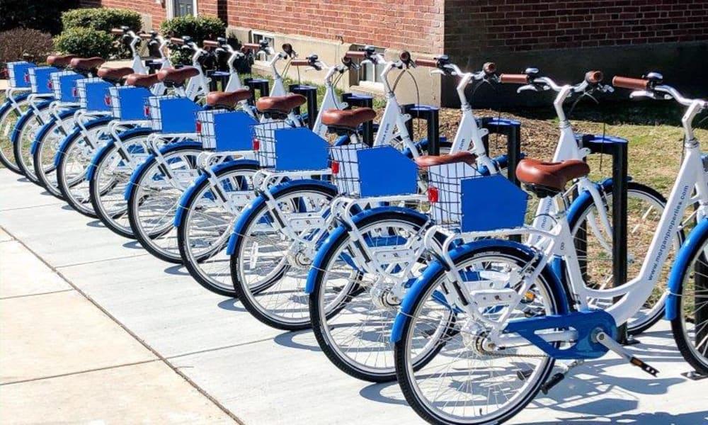 Bike Share at Henry on the Park Apartment Homes in Philadelphia, Pennsylvania