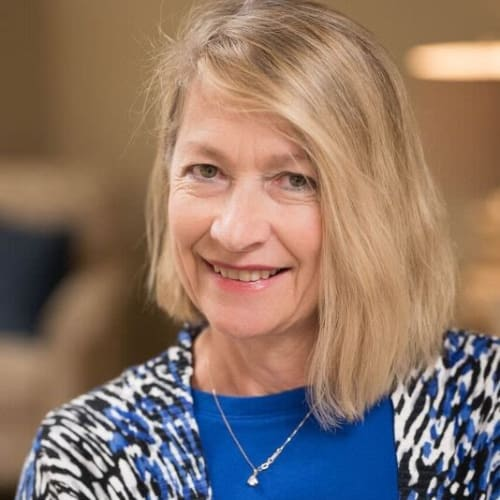 Michelle Larson, Director of Community Relations, Senior Living Counselor of Keystone Place at LaValle Fields in Hugo, Minnesota