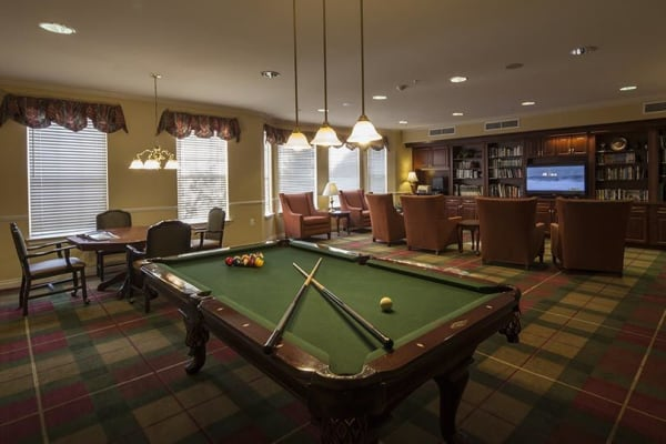 Waltonwood Twelve Oaks offers a variety of amenities and care levels.