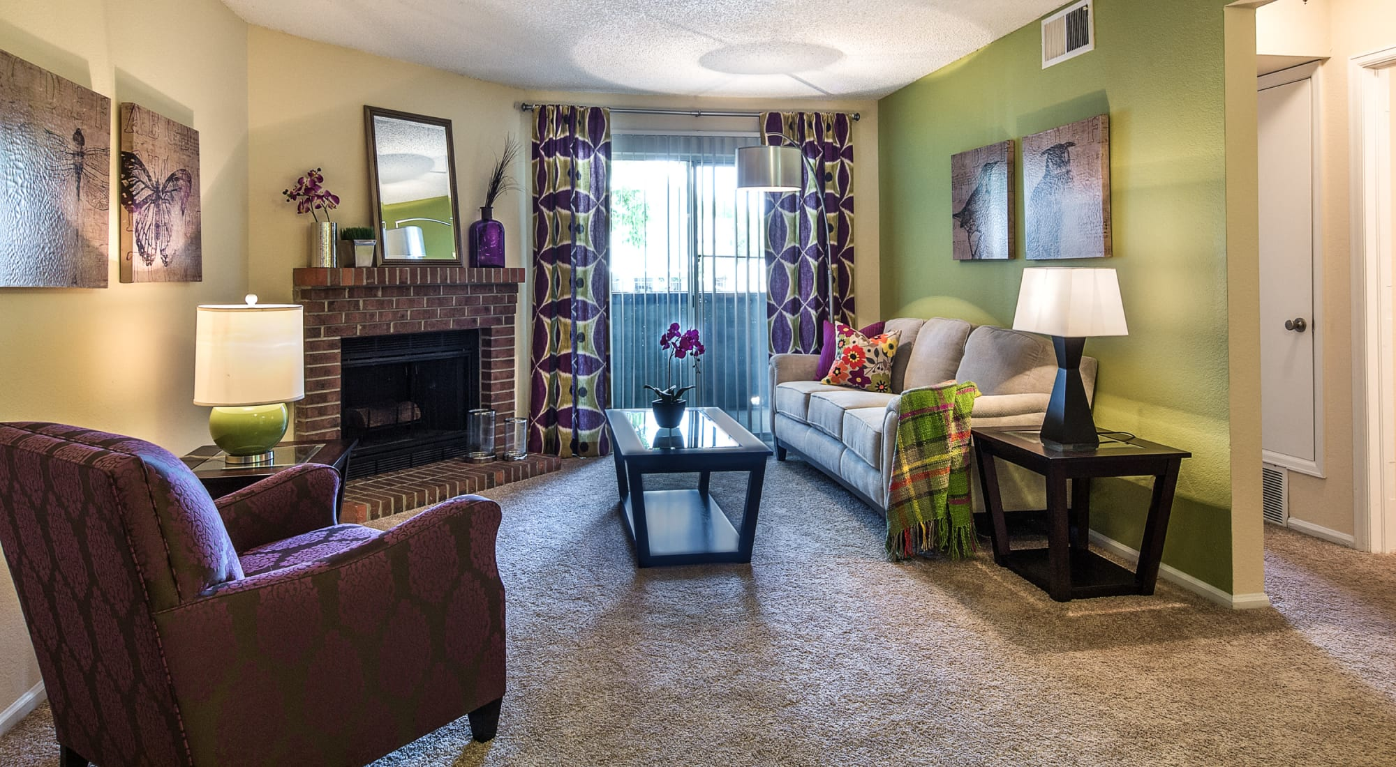 Floor plans at Waterfield Court Apartment Homes in Aurora, Colorado