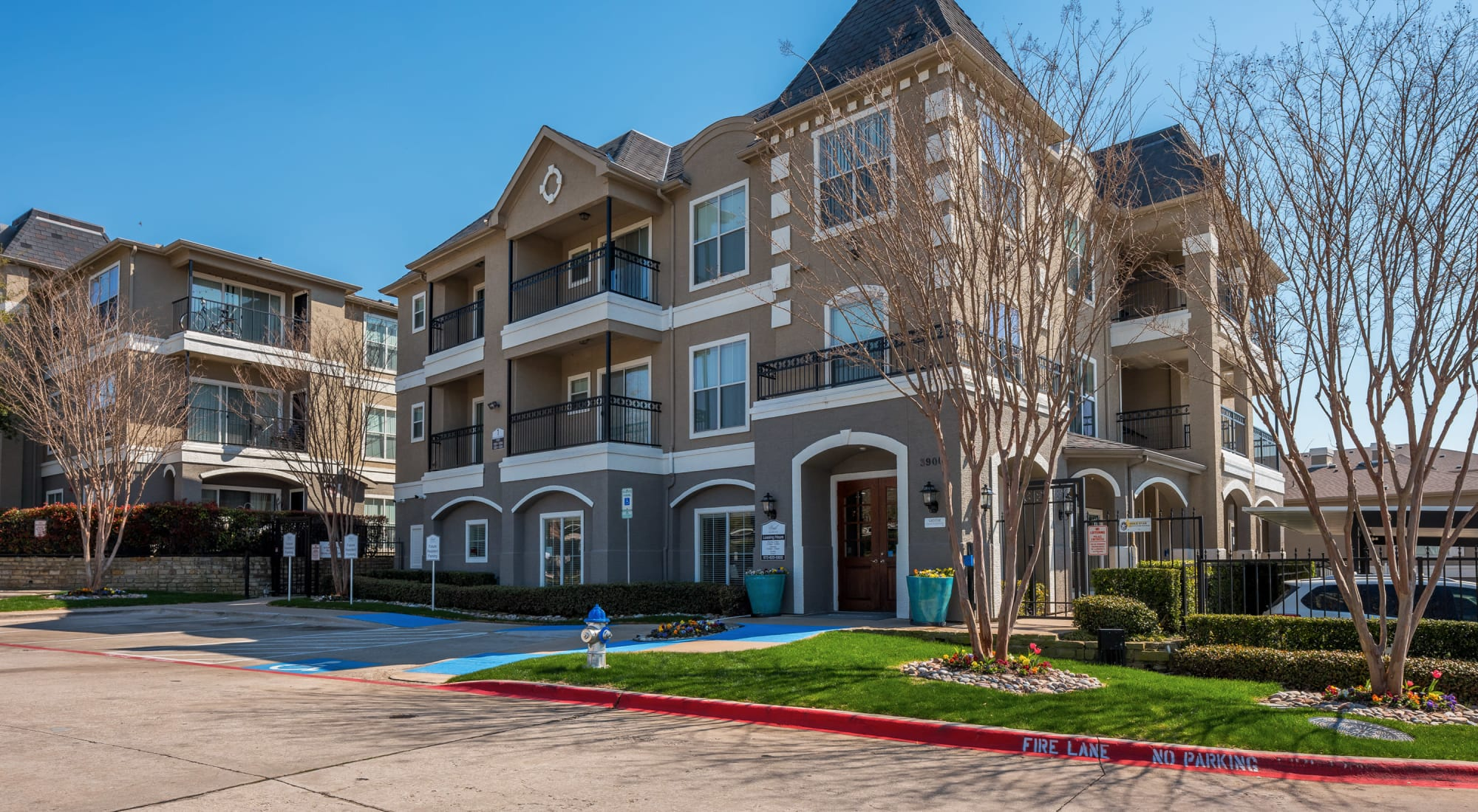 Neighborhood at Vail Quarters in Dallas, Texas
