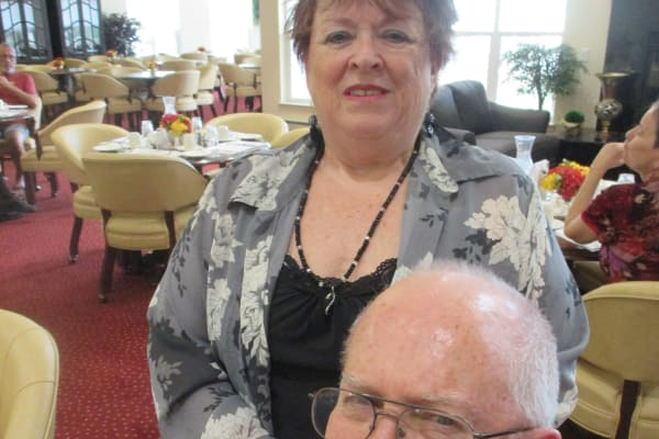 Bernie & Ann Fromm  at Estrella Estates Gracious Retirement Living in Goodyear, Arizona