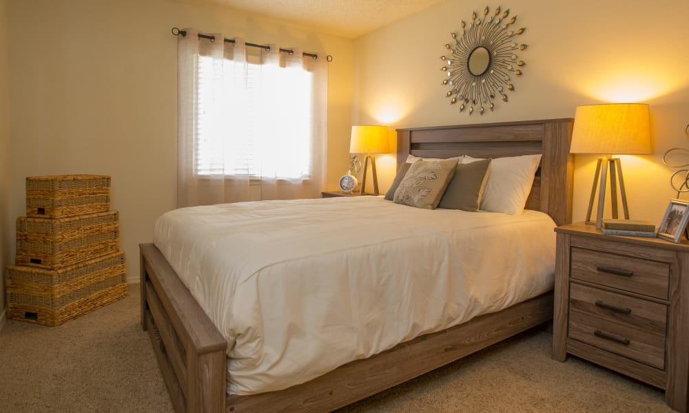 Cozy Bedroom at Chardonnay in Tulsa, Oklahoma