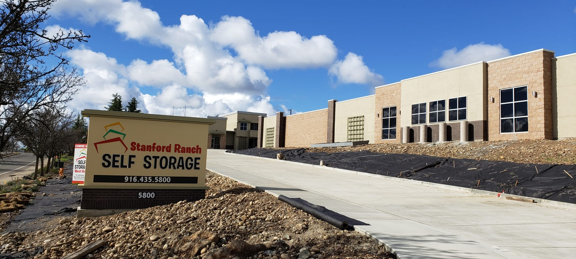 Stanford Ranch Self Storage in Rocklin, California - Home of the 1st Year Price Guarantee!