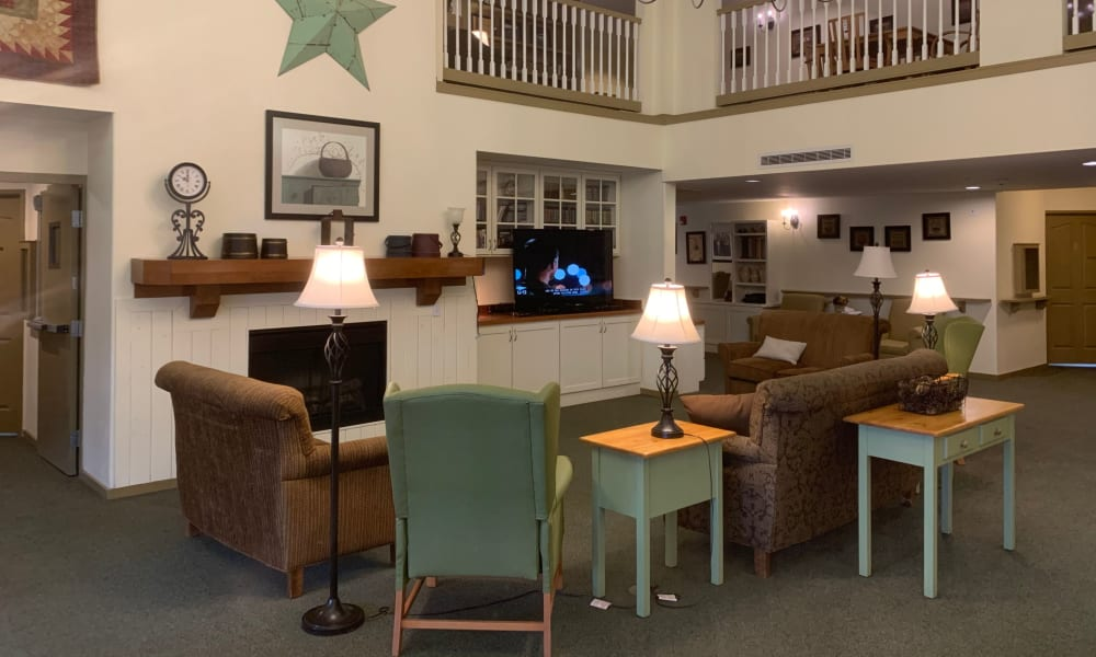 Lounge in Liberty House at Generations at Lewiston in Lewiston, Idaho