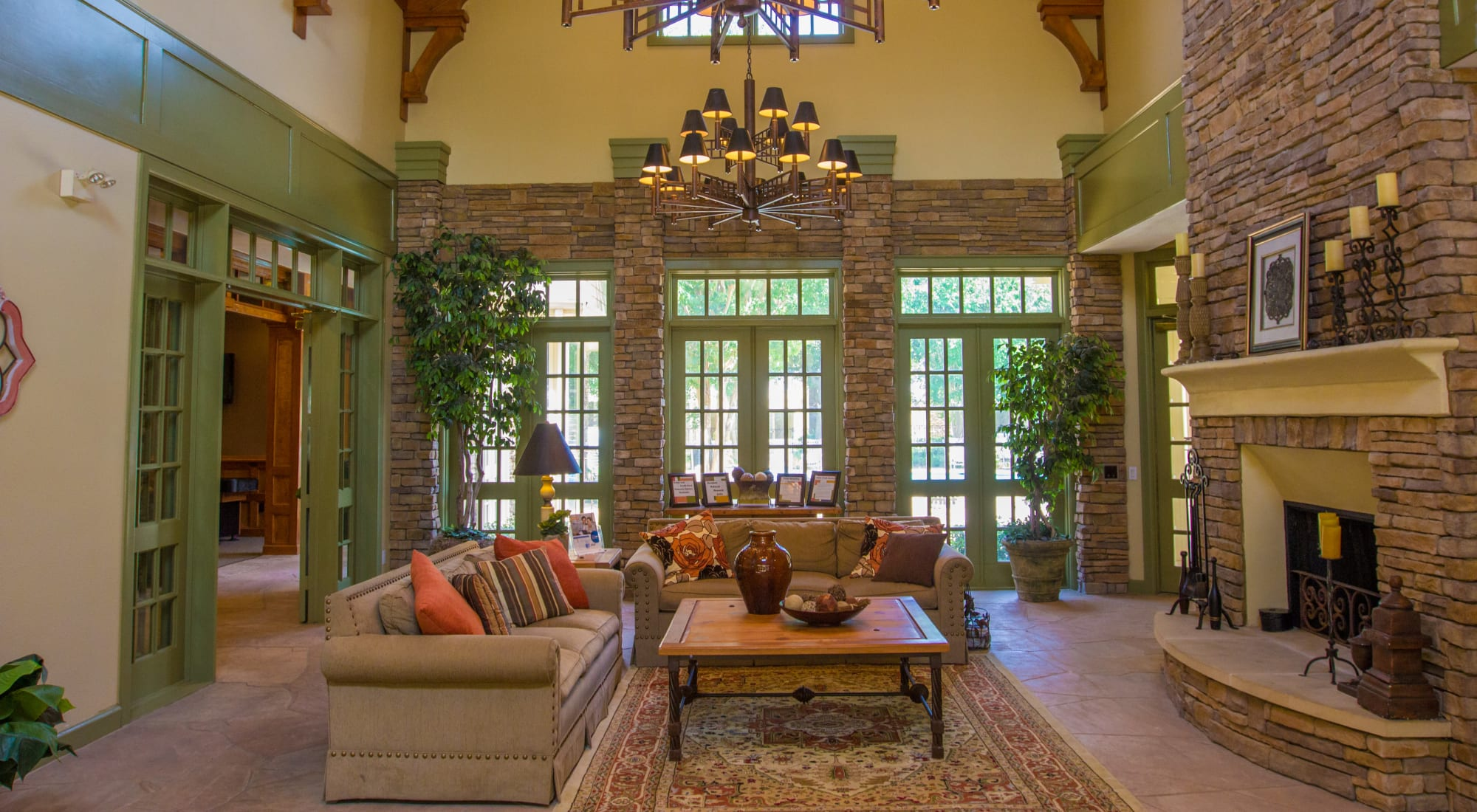 Photo gallery at The Lodge at River Park in Fort Worth, Texas