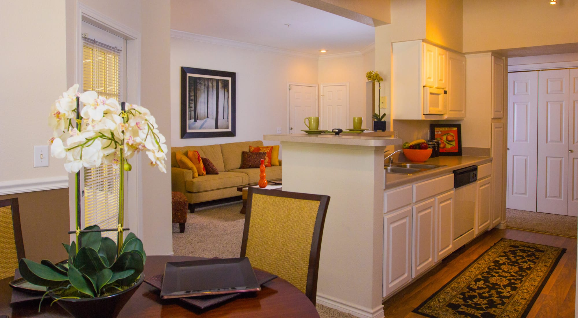 Apartments at The Lodge at River Park in Fort Worth, Texas