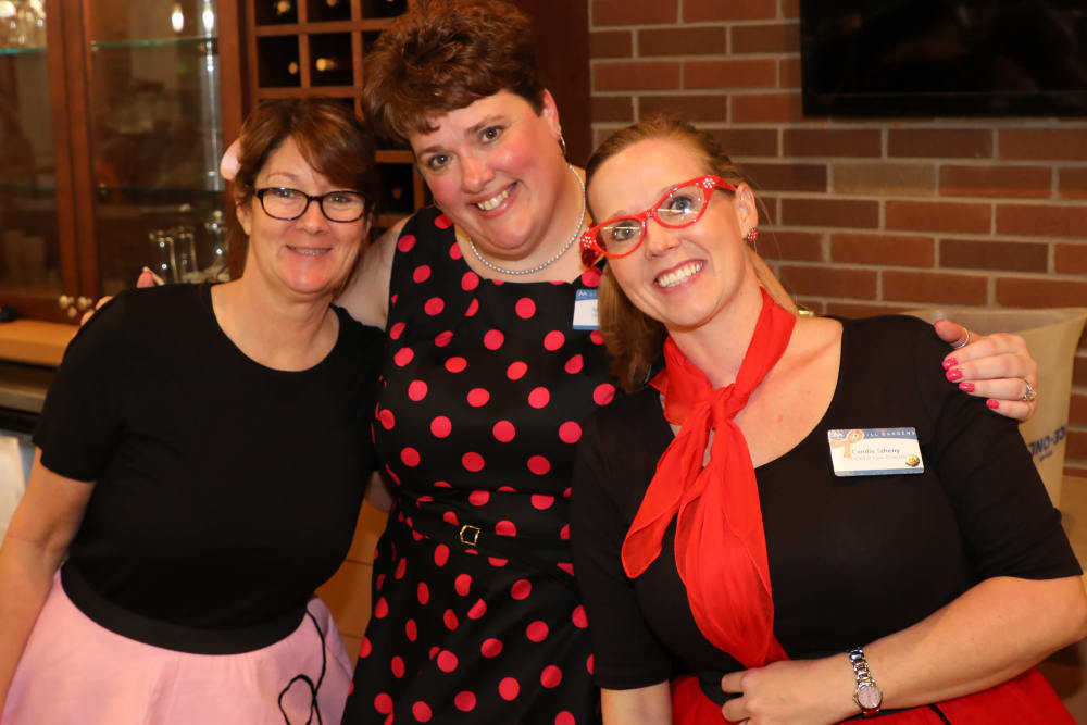 General Manager and team at the Madison Sock Hop Anniversary Party