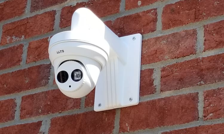 Security camera at Steele Creek Self Storage in Charlotte, North Carolina