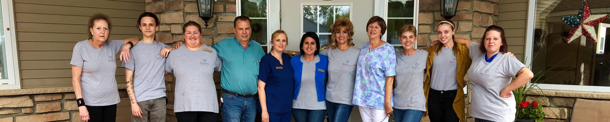 Our Team at Clearview Lantern Suites in Warren, Ohio