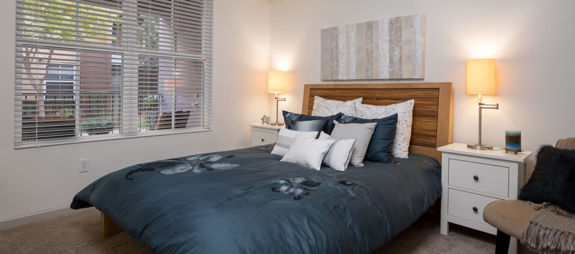 Bedroom at Park Central in Concord, California