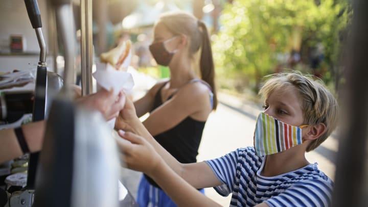 Kid buying ice cream near Olympus Hillwood in Murfreesboro, Tennessee