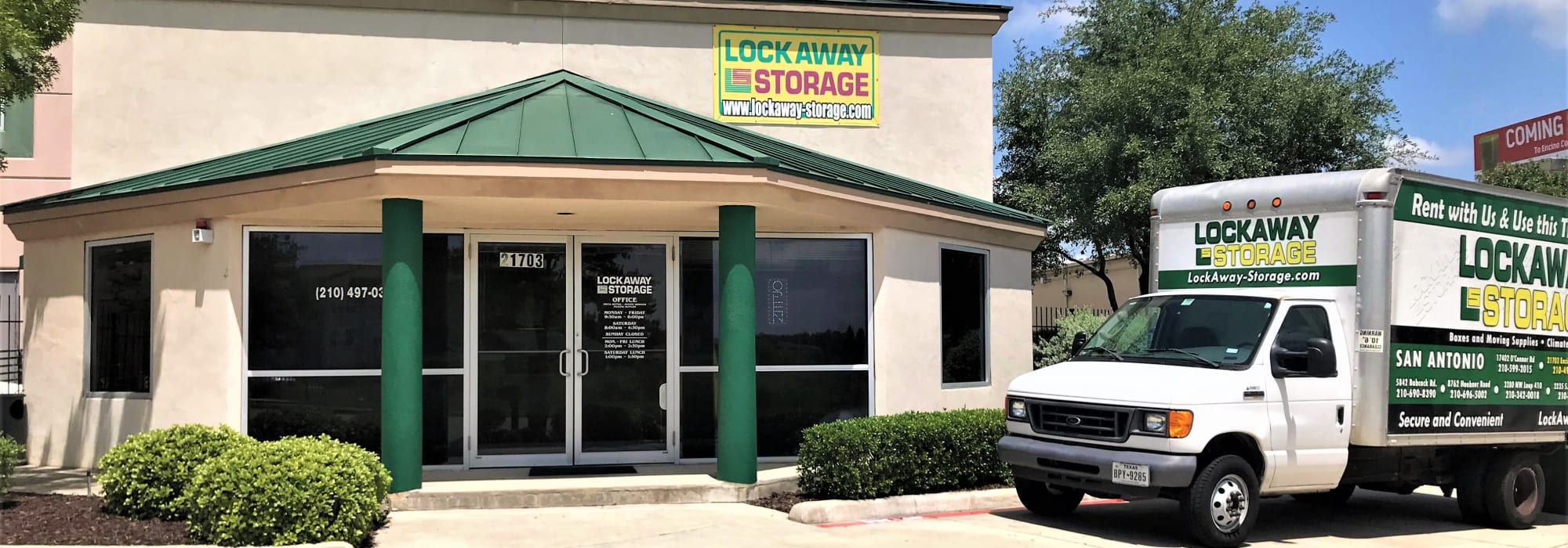 Self storage at Lockaway Storage in San Antonio Texas