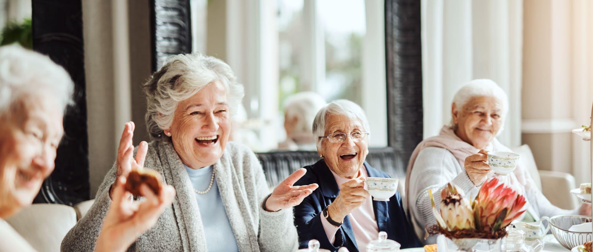 Services and amenities at Milestone Senior Living Rhinelander in Rhinelander, Wisconsin.