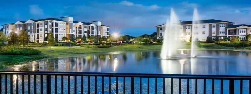 Water feature at Integra Lakes in Casselberry, Florida