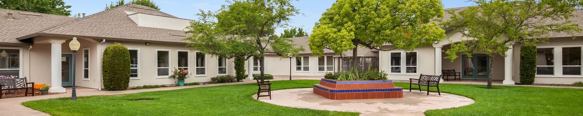 Our community at MuirWoods Memory Care in Petaluma, California