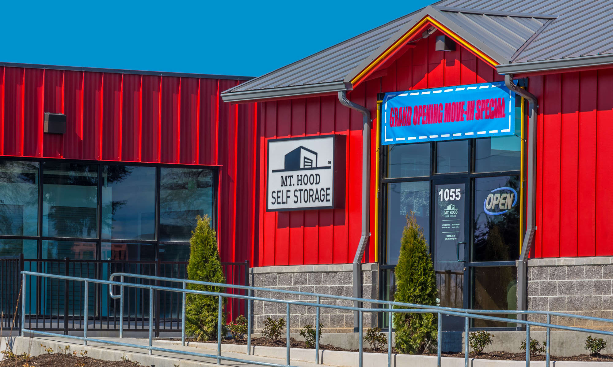 Visit our Woodburn facility for all of your storage needs today