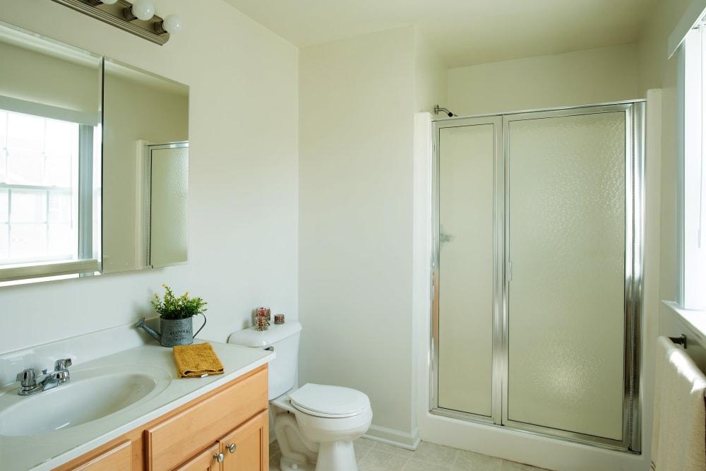 Bathroom at Hampton Run in Glenville, NY