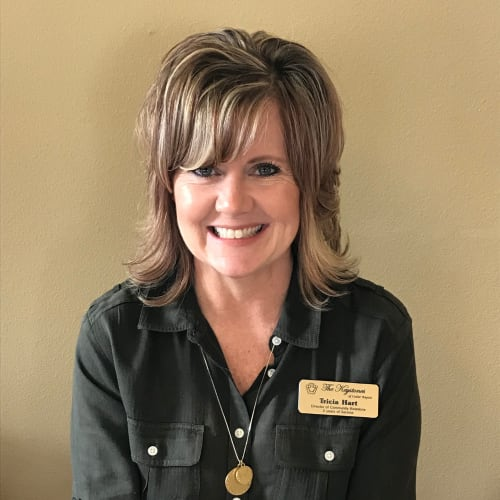 Tricia Hart, Director of Community Relations, Senior Living Counselor of The Keystones of Cedar Rapids in Cedar Rapids, Iowa