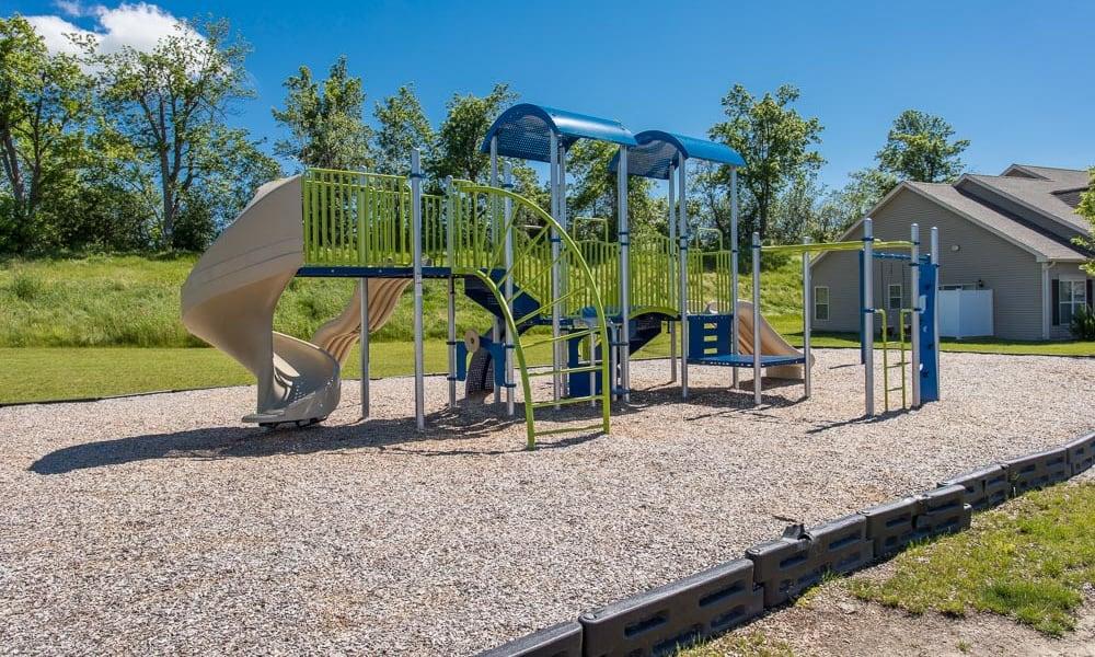 Playground at Preserve at Autumn Ridge in Watertown, New York