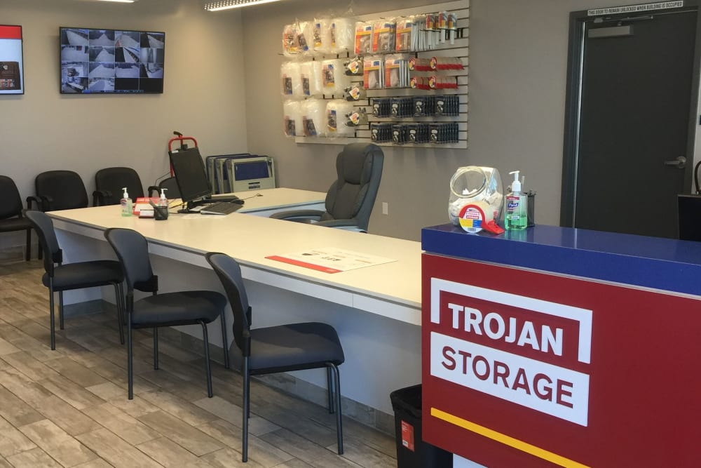 Office of Trojan Storage in Sacramento, California