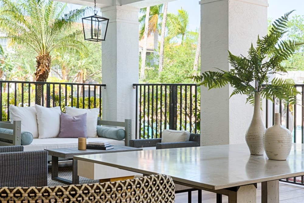 Enjoy a Beautiful Outdoor Lounge at our Apartments in Jupiter, FL