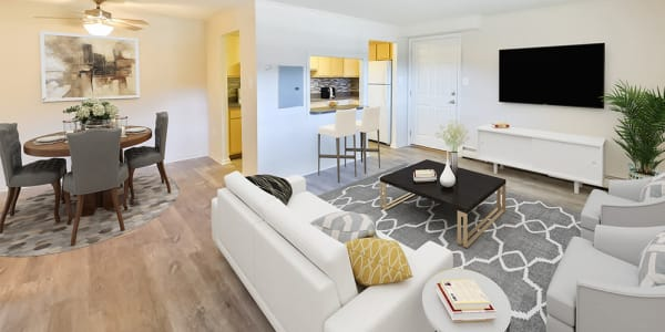 Spacious floor plans at Waterview Apartments in West Chester, Pennsylvania